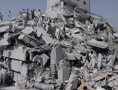 パキスタン大地震